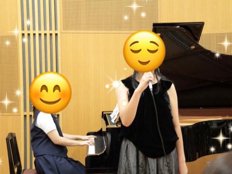 ♪ピアノ音楽発表会♪