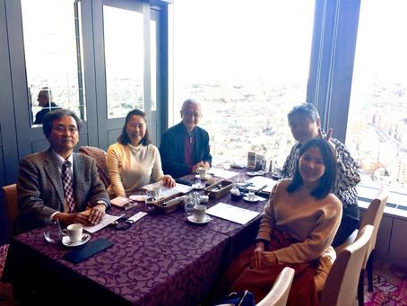 アルデバランと作曲者新実徳英先生と指揮者秋山和慶先生
