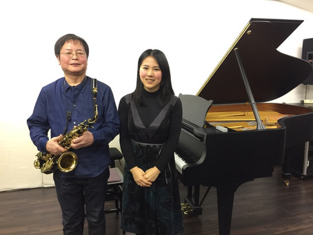 サックス伴奏@トート音楽院とピティナピアノステップ、生徒さん最高ランクをいただきました