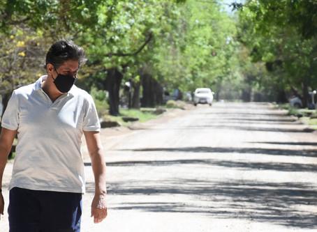 Gestión Santacroce: comienza el pavimento en calle Elorza