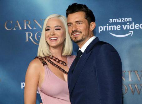 Katy Perry y Orlando Bloom fueron padres de una bebé que llamaron Dasy Dove
