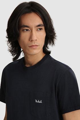 Camiseta bolsillo Melton Blue