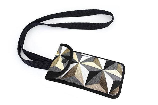 Lurex Prisma Phone bag