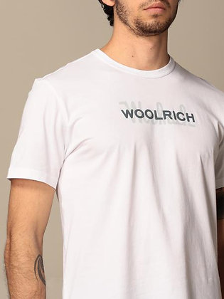 Camiseta logo grande bright white