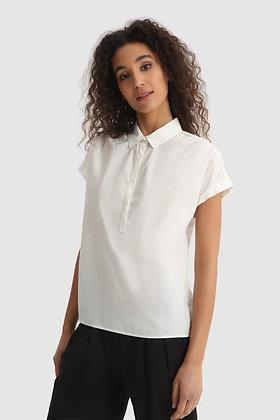 W´s Popeline blouse white