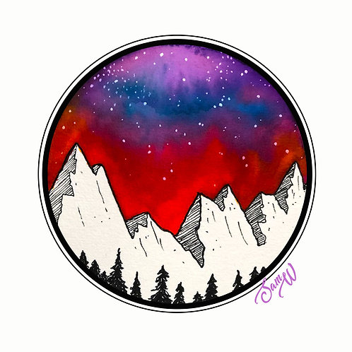 Mountain Note Card