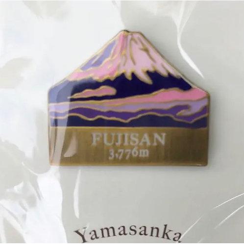 百名山バッチ072富士山(C)yamasanka冬