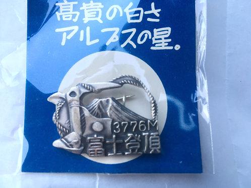 百名山バッチ072富士山(A)