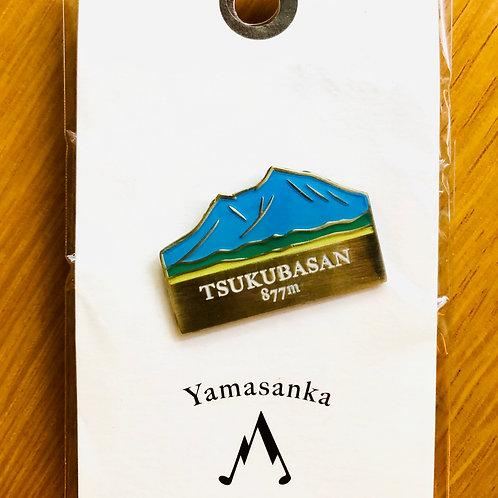 百名山バッチ044筑波山(C)yamasanka