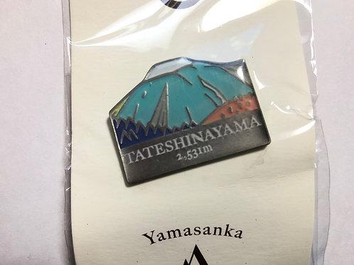 百名山バッチ063蓼科山(C)yamasanka