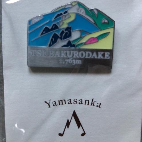 登山バッジ 燕岳 (A)yamasanka