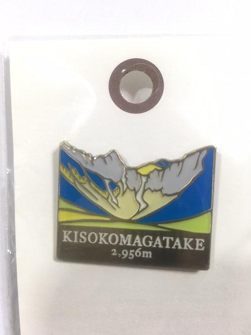 百名山バッチ074木曽駒ヶ岳(D)yamasanka