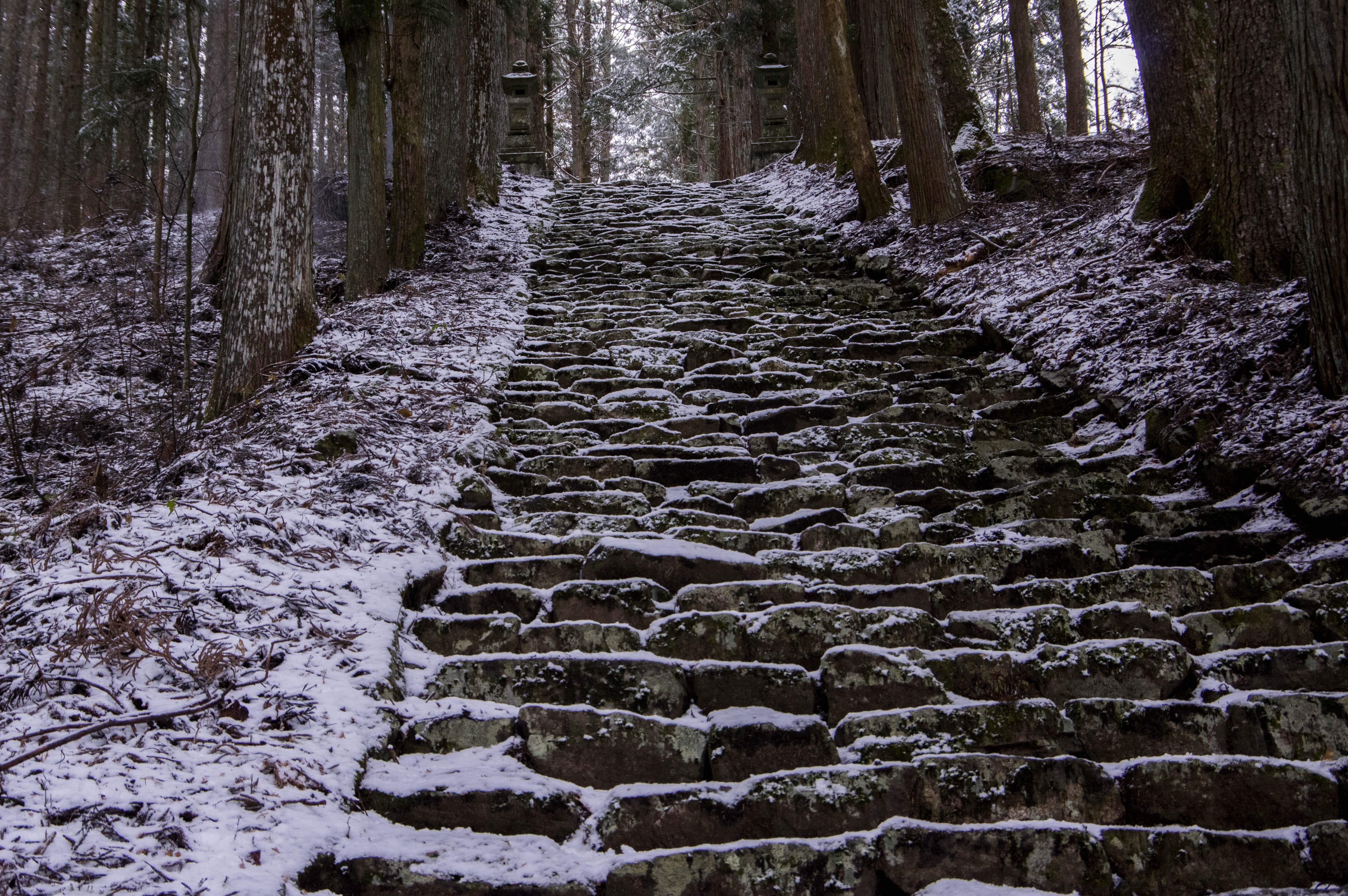 雪の氷室神社
