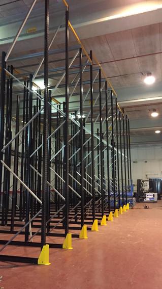 Preparando las nuevas instalaciones