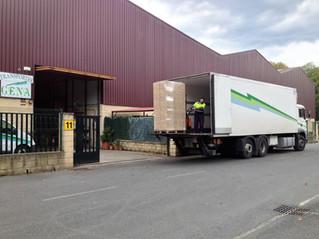 Transportes Gena se suma a la prueba en Bilbao que mejorará la carga y descarga en la ciudad