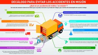 Consejos de seguridad vial laboral