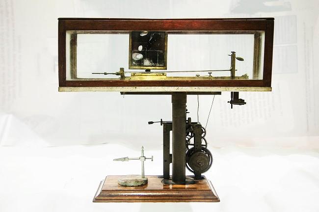 Compund Lever Crescrograph. Credit: Bose Institute