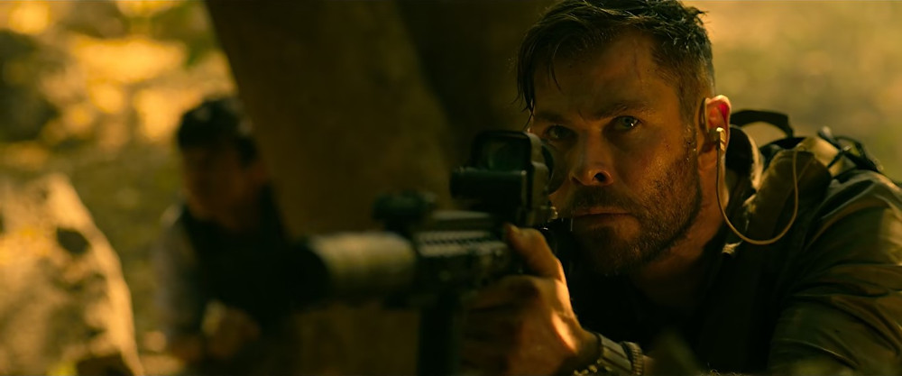 Chris Hemsworth in 'Extraction'