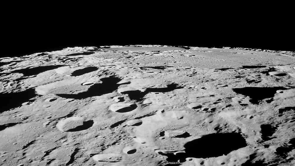 The Moon's surface. Credit: NASA