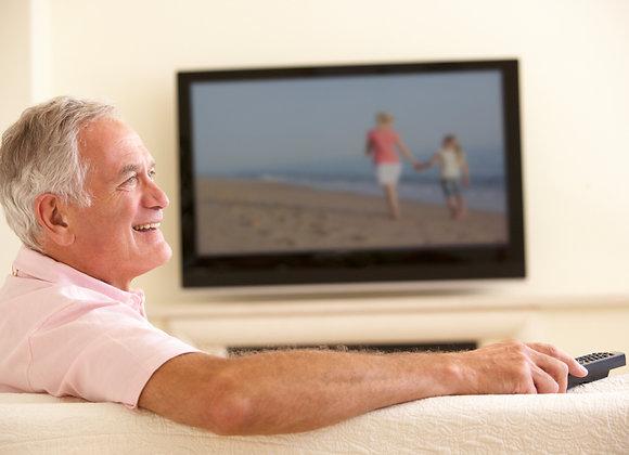 Digitalizar imagens para ver na TV