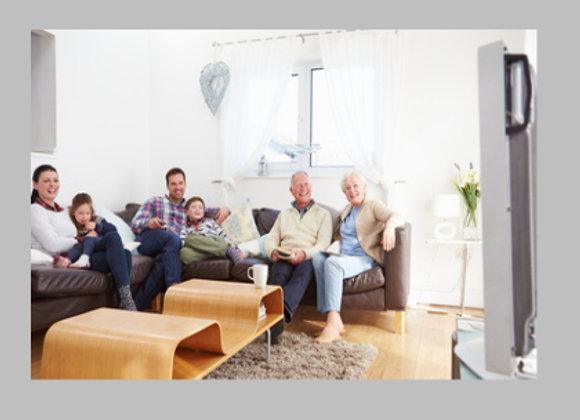 Familia vê Memorias Digitalizadas