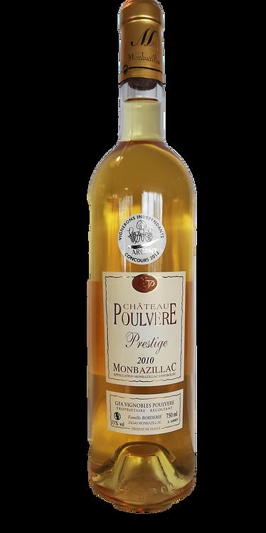 """Monbazillac Prestige 2010  """"Chateau Poulvère"""" 75 Cl"""