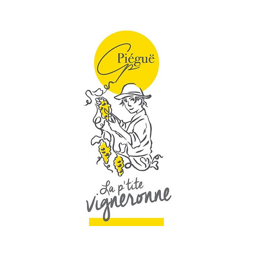 """IGP Chenin """"la p'tite vigneronne"""" Château PIÉGUË 75CL"""
