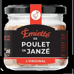 Émietté de Poulet de Janzé Original 90GR