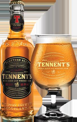 TENNET'S passée en fût de whisky 6° 33CL