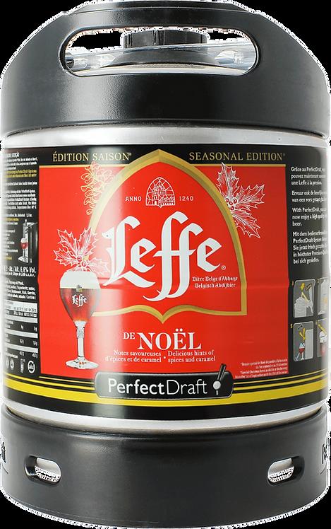 Mini Fût Perfect Draft LEFFE de NOEL 6l