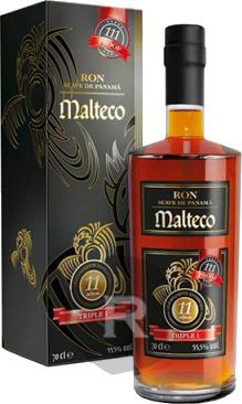 MALTECO 11 ans TRIPLE 1 Ron 55.5° 70CL