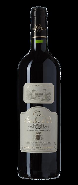 Castillon Côtes de Bordeaux 'CLOS BARBE D'OR' 2015  75Cl
