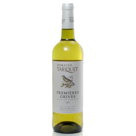"""TARIQUET Côtes de Gascogne Moelleux """"1ère grive"""" 2018 75cl"""