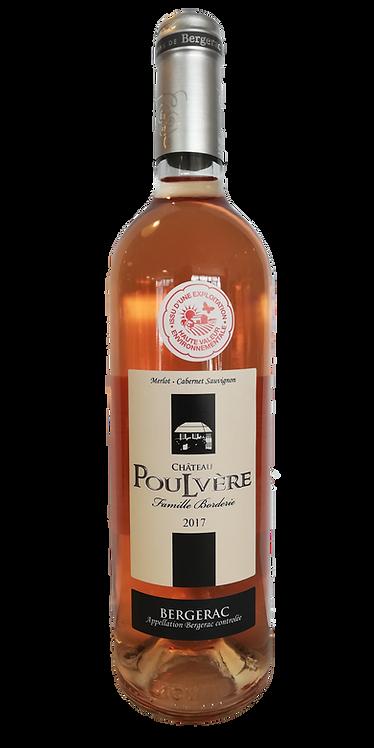 Bergerac Rosé 2020 Château Poulvère75 Cl