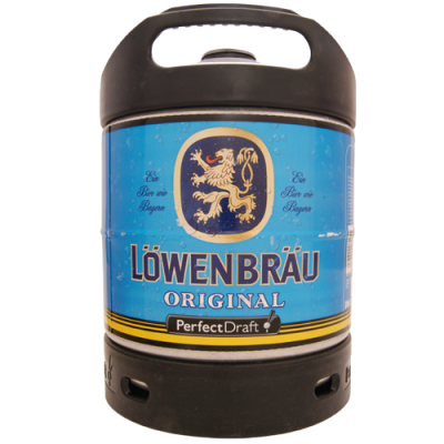 Mini-Fût Perfect Draft LOWENBRAU 5.2 6l