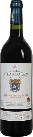 """Saint Emilion Grand Cru """"Fleur du Casse"""" 2011 75cl"""