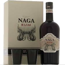 Coffret Rhum NAGA+ 2 verres