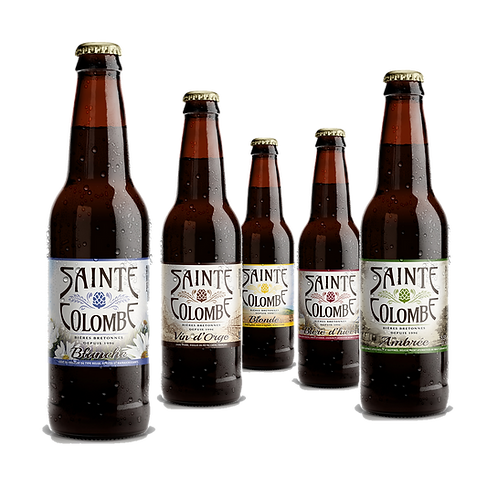 STE COLOMBE Hoppie Blanche 33 cl