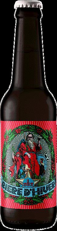 LA DEBAUCHE Bière d'Hiver 7° 33CL