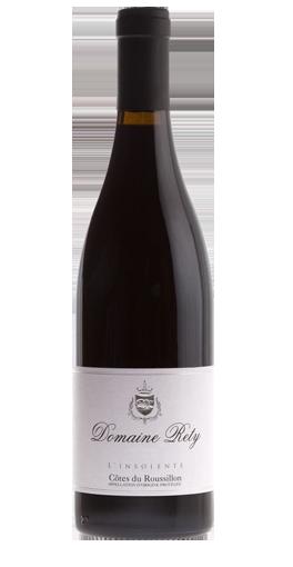 """Côtes du Roussillon """"L'insolente"""" Domaine RETY 2018 75Cl"""