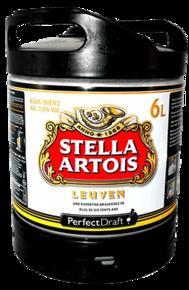 Mini fût PerfectDraft 6L Stella Artois