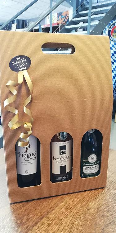 Coffret de vins 3 bouteilles