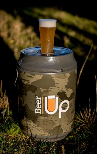 "TIREUSE BEER UP 5L AUTONOME ""CAMOUFLAGE"""