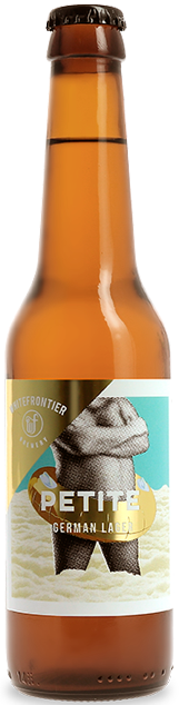 WHITEFRONTIER 'La Petite' German Lager 5° 33cl