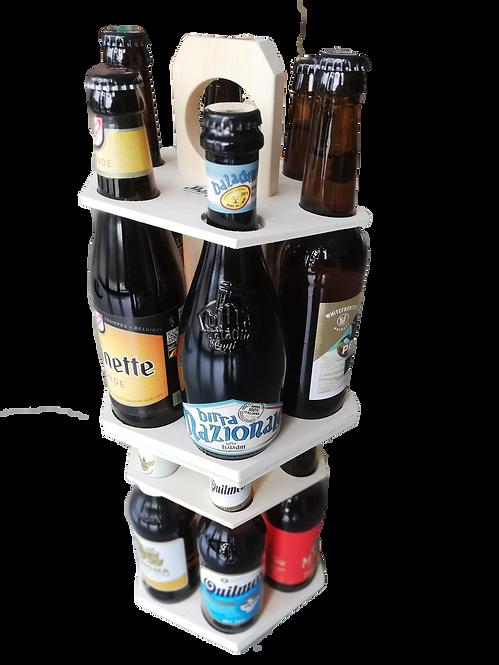 Carrousel 12 bières du monde 2 étages