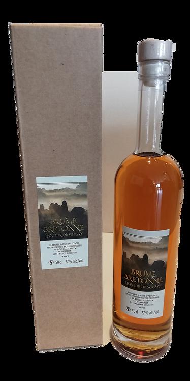 """LIQUEUR de Whisky """"Brume Bretonne"""" 27° 50Cl"""