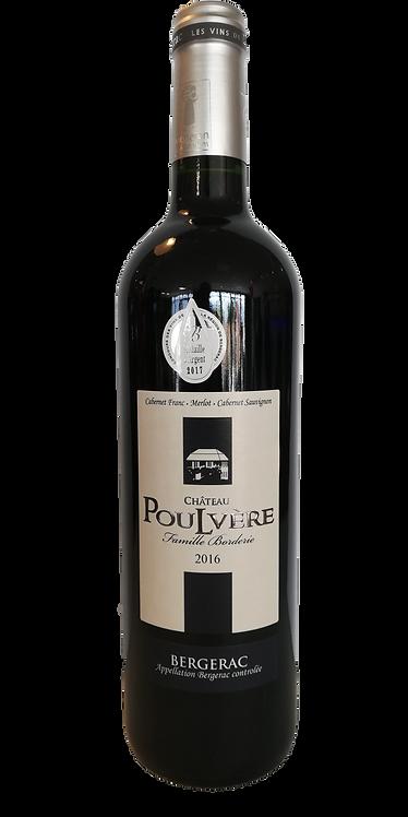Bergerac rouge Château Poulvère 2019 75 Cl