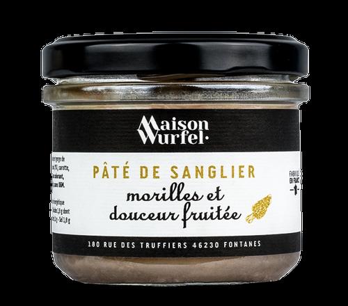 Pâté de Sanglier Morilles WURFEL 95G