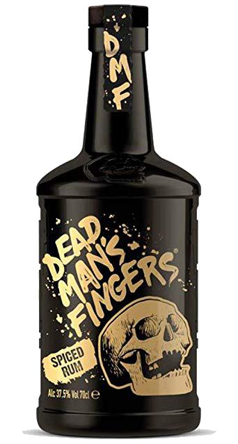 Rhum DEAD MAN'S FINGER Spiced 40° 70CL