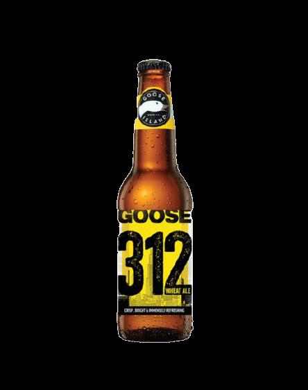 GOOSE 312 Urban Wheat Ale  4.2°  35.5cl